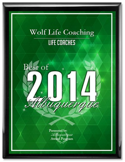 2014 Wolf Life Coaching Award