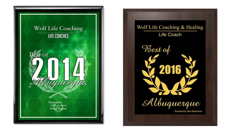 Susi Wolf Life Coach Awards