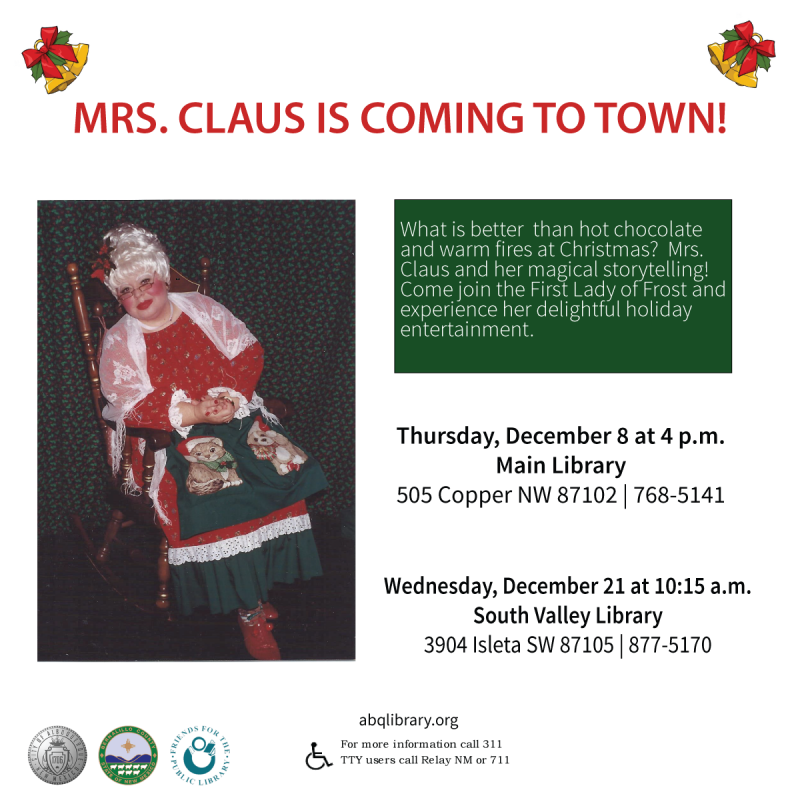 Mrs. Claus Library Photo